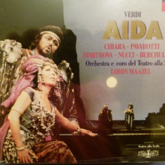 Verdi -Aida - Scala - Lorin Maazel - Muzica Opera decca classics, CD