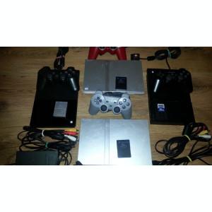 Playstation 2 modat slim ps2 modat+7 jocuri:GTA Mortal Kombat FIFA 14 TEKKEN etc