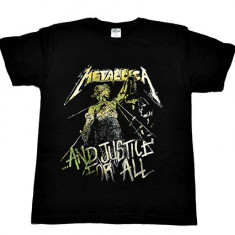 Tricou Metallica - Justice For All - new logo, Marime: L