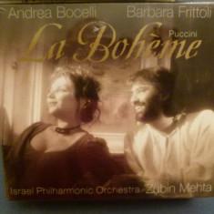 La Boheme - Puccini - Muzica Opera decca classics, CD