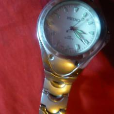 Ceas Japonia quartz, Seiko, bratara metalica, vechi, functional - Ceas barbatesc Seiko, Lux - sport