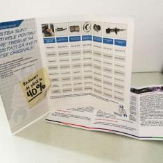 Pliante - tipar digital - Printare