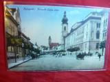 Ilustrata Cluj ,Stada Kossuth Lajos ,color,inc.sec.XX foto Kuhn Albert, Necirculata, Printata