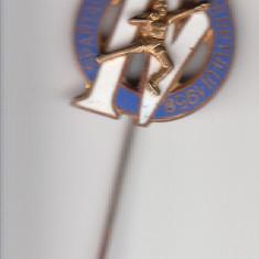 Insigna A IV-a Spartachiada a Tineretului 1959 cu ac