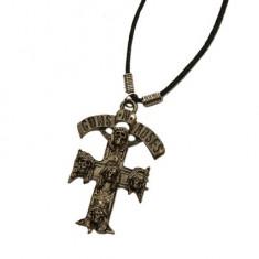 Medalion Guns N Roses - cruce cu cranii