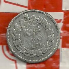 F F RAR-100 lei 1932 -metal alb-fals? - Moneda Romania