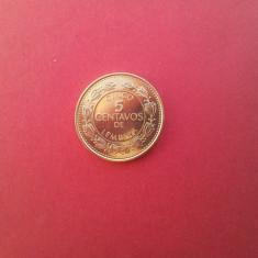 5 centavos 2005-HONDURAS -UNC-luciu de batere, America Centrala si de Sud