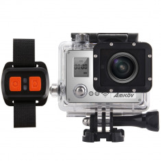 Aproape nou: Camera video sport PNI Amkov AMK7000S 4K Action Camera - Camera Video Actiune Amkov, Card de memorie