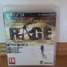 PS3 Rage - joc original by WADDER - Jocuri PS3 Bethesda Softworks, Shooting, 18+, Multiplayer