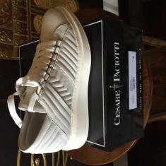 Paciotti, pantofi sport - Adidasi barbati Cesare Paciotti, Marime: 41, Culoare: Alb