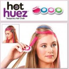 Hot Huez: 2 seturi de Pudre colorante pentru par! - Vopsea de par