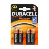 Aproape nou: Baterie alcalina Duracell Basic AA sau R6 cod 81480573 blister cu 4bc