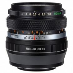 Adaptor Fuji - Olympus OM pentru x-pro1 x-e1 e2 x-m1 - Inel adaptor obiectiv foto