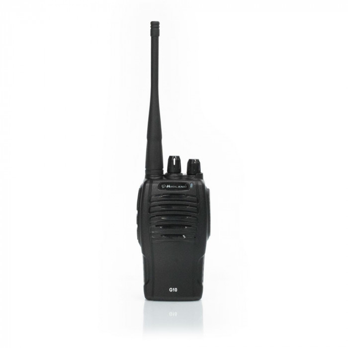 Resigilat : Statie radio UHF portabila Midland G10 Cod C1107