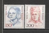 Germania.1991 Personalitati feminine  SG.685, Nestampilat