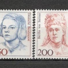 Germania.1991 Personalitati feminine  SG.685