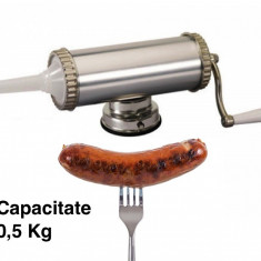 Masina de facut carnati sau lebar 0, 5 kg - Masina de Tocat Carne