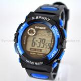 Ceas Synoke S-SPORT LED (culoare curea: albastru)
