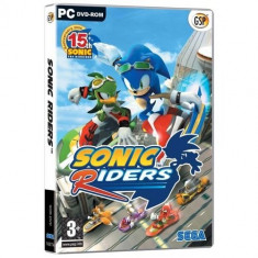 Sonic Riders Pc - Jocuri PC Sega, Actiune, 3+