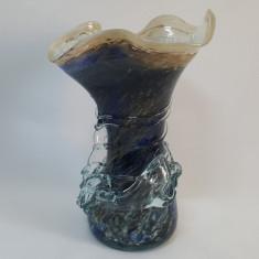 VAZA VECHE STICLA MURANO, GREA - Vaza sticla