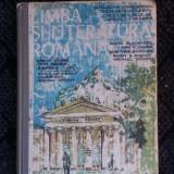 LIMBA SI LITERATURA ROMANA CLASA A XII A .