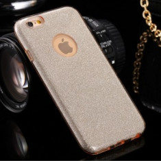 Husa Glitter Case Apple iPhone 6 Plus GOLD - Sticker Telefon