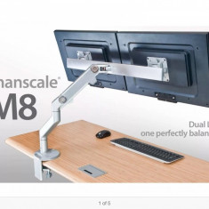 Suport monitor Humanscale M8 CrossBar 2 x Asus 19 inch., 1440 x 900