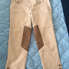 Pantaloni dama La Redoute, Marime: 42, Culoare: Bej, Lungi