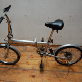 BICICLETA PLIABILA FREAK STYLER - Shimano SIS - Bicicleta pliabile, 20 inch, Numar viteze: 7