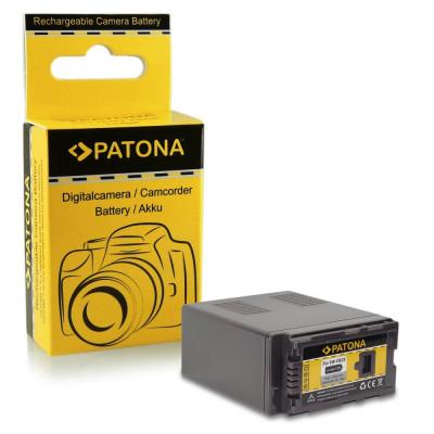 Acumulator pt Panasonic VW-VBG6, AG-HCM4, VBG070, cu Infochip marca Patona, foto