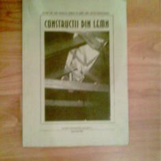 CONSTRUCTII DIN LEMN -CONF DR ARHITECT-RODICA CRISAN -AS ARH SILVIU GOGULESCU - Curs Tehnica