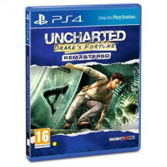 Uncharted Drakes Fortune Remastered Ps4 - Jocuri PS4, Actiune, 16+