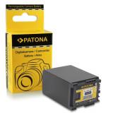 Acumulator compatibil CANON BP-827, 2000mAh / 7.4V / 14.8Wh, marca Patona,, Dedicat