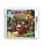 Donkey Kong Country Returns 3D Nintendo 3Ds, Actiune, 3+