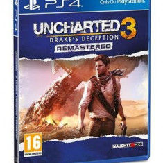 Uncharted 3 Drakes Deception Remastered Ps4 - Jocuri PS4, Actiune, 16+