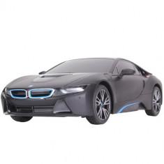 Masinuta Rastar cu Telecomanda BMW i8, Scara 1:18 Negru