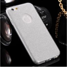 Husa Glitter Case Apple iPhone 7 Plus SILVER - Sticker Telefon