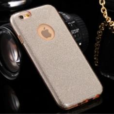 Husa Glitter Case Apple iPhone 6G / 6S GOLD - Sticker Telefon