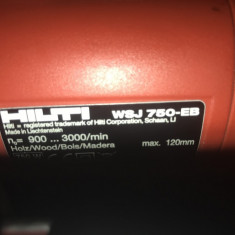 Fierastrau pendular HILTI WSJ 750-EB