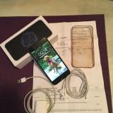 Vand iPhone 6 16gb, Garantie 1 an si 1 luna, pachet complet - Telefon iPhone, Negru, Vodafone, Single SIM, Quad core