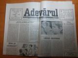 ziarul adevarul 10 mai 1990-art. despre campania electorala