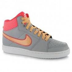 Ghete adidasi  dama  Nike Backboard II gri portocaliu roz marime 41