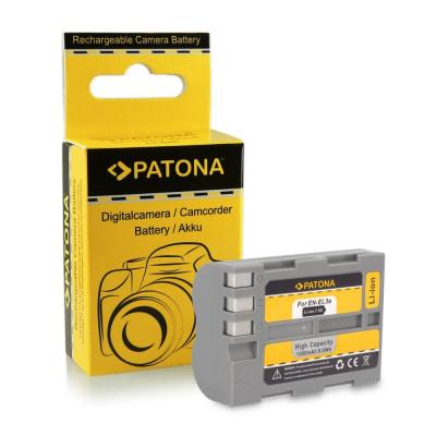 Acumulator compatibil Nikon EN-EL3,D50,D70,D80,D100,D200,D300, marca Patona, foto