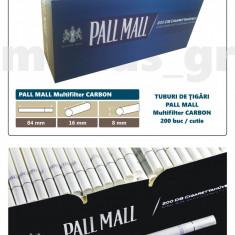 1.000 tuburi Pall Mall Multifiltru cu Carbon Tuburi de tigari pentru tutun - Foite tigari