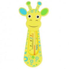 Termometru De Baie Pentru Copii Babyono Girafa Galbena 774 - Termometru copii