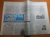 ziarul tineretul liber 24 ianuarie 1990-131 de ani de la unire si int.ion tiriac