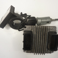 Calculator motor Opel Astra G Z16XE 12214880 DNHP - Dezmembrari Opel