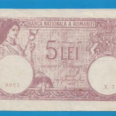 5 lei 1917 Fals de epoca 2 - Bancnota romaneasca