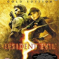 Resident Evil 5 Gold Edition Xbox360, Actiune, 18+