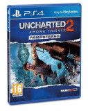 Uncharted 2 Among Thieves Remastered Ps4, Actiune, 16+, Sony